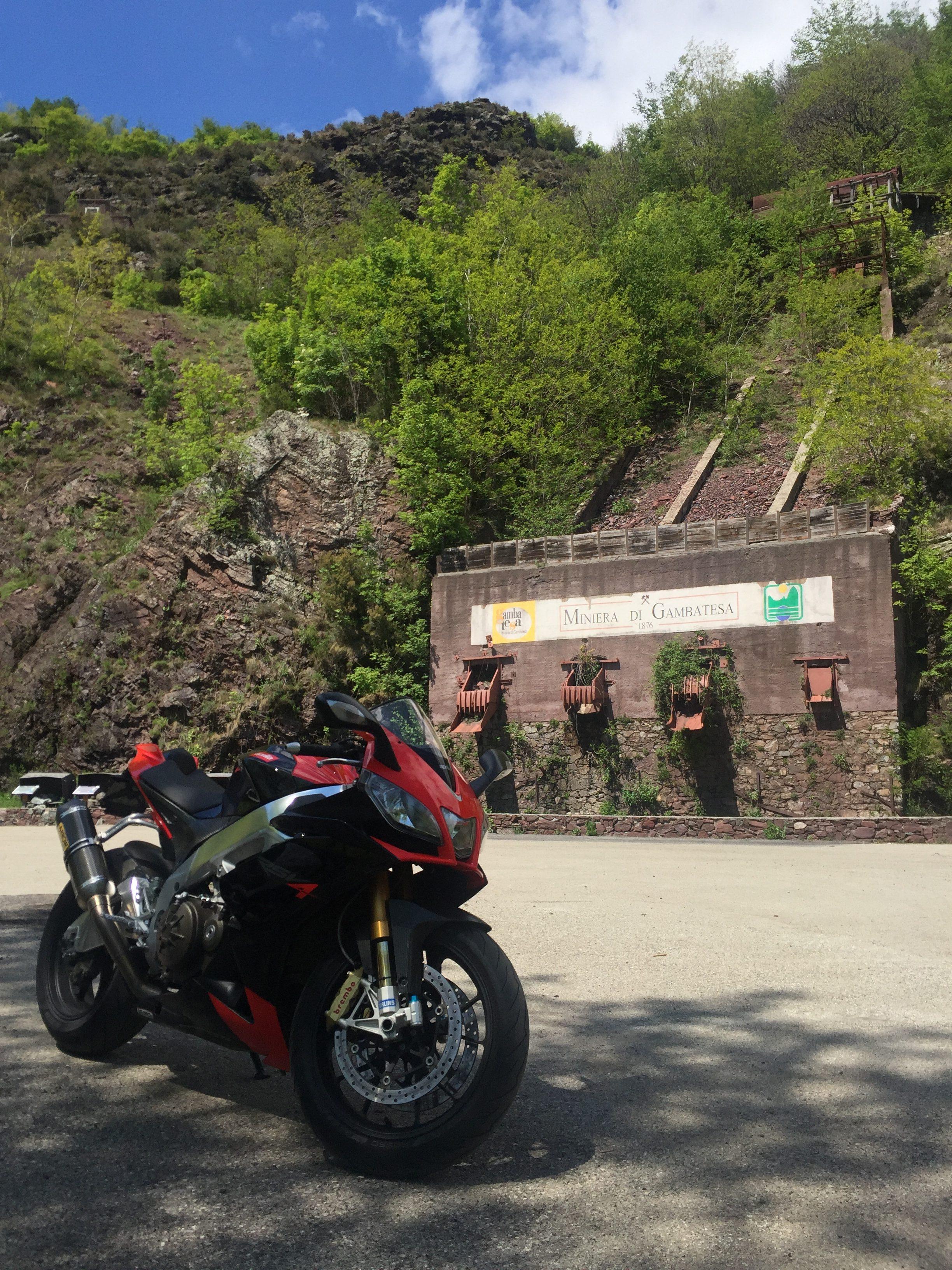 italiainpiega-motoenonsolomoto-4 passi appenninici-miniera di gambatesa 1