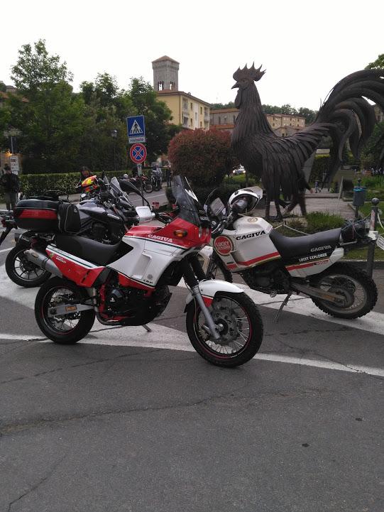 italiainpiega-evento-polvere e gloria-eroici in moto 2017-gaiole in chianti-cagiva explorer