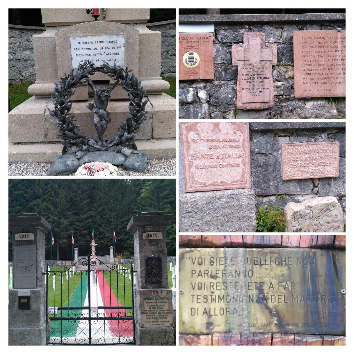 italiainpiega-evento-la grande guerra 2018-cimitero italo austriaco cesuna 2